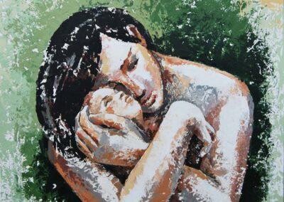 Gioia materna - cm 60x50